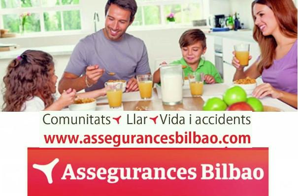 Assegurances Bilbao, Mollet del Vallès, Barcelona, Comunitats, Llar, Vida i Accidents
