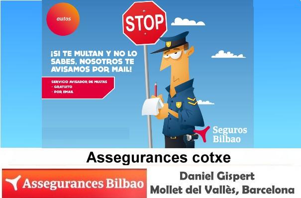 Assegurances Bilbao, Mollet del Vallès, Barcelona, Avisador de multes.