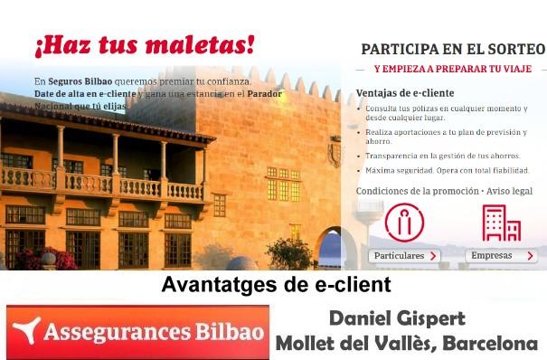 Assegurances Bilbao, Mollet del Vallès, Barcelona, avantatges e-client