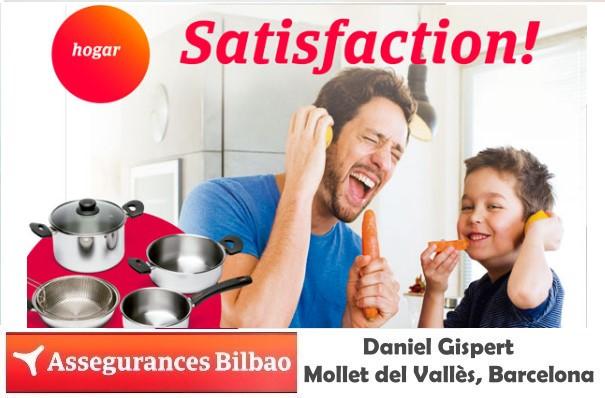 Seguro de Hogar Satisfaction,  2019 tu oficina de seguros Assegurances Bilbao, Mollet del Vallès,Barcelona